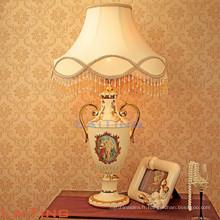 Lampe de table en marbre américain pour la maison, lampe de bureau intérieure 2189