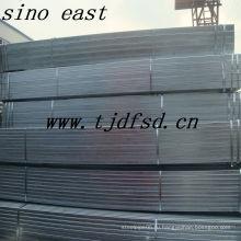 Оцинкованная квадратная стальная труба ASTM