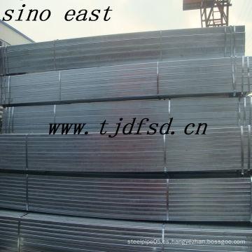 Tubería de acero cuadrada galvanizada ASTM