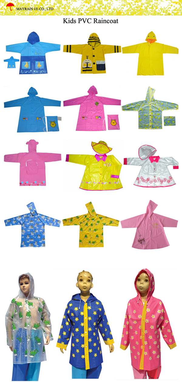Kids PVC Raincoat