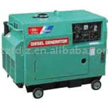 Охлаждением малошумный Тепловозный генератор 3кВт