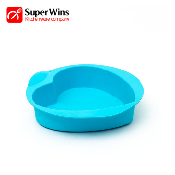 Heart Shaped Springform Silikon Backform Kuchen Pan