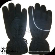 SRSAFETY черный хлопок wokring перчатки водонепроницаемая ткань безопасность glvoes мотобайк