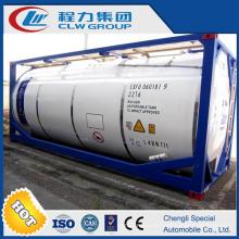 Personalizada 25000 litros crudo contenedores ISO tanque para la venta