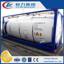 Customized 25000 Litre Crude Oil ISO Container Tank for Sale