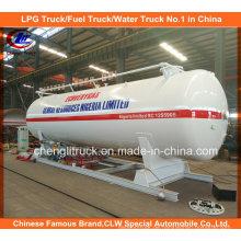 5m3 LPG Abfüllanlage 20m3, 40m3 LPG Skid Station LPG Tankstelle mit Doppeldüsenspender für Nigeria