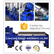 Centrífuga y decantador automático de decantadores para aceite de pescado de Liaoyang Hongji