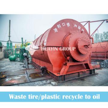 Les machines en cours de fonctionnement 5/8 / 10T véhicule la machine de pyrolyse en caoutchouc pour alimenter l'huile avec l'avenir prometteur