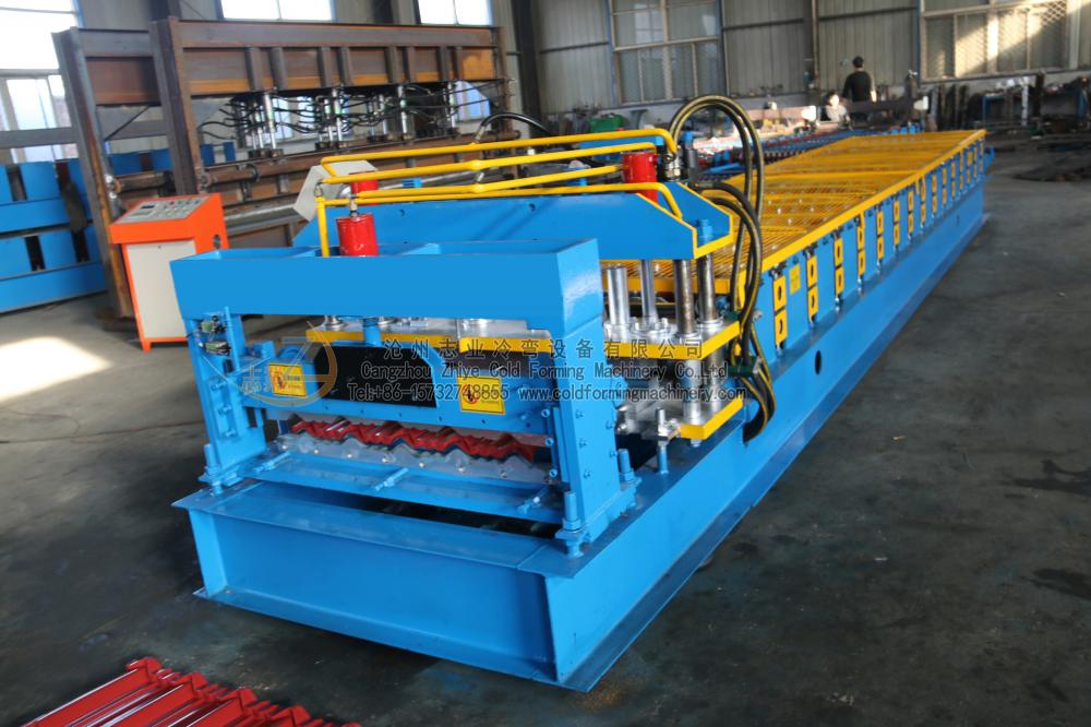 High Quality Customized Glazed Sheet Forming Machine