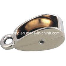 Pulley de ojo y polea de aleación de zinc