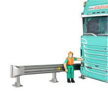 roadway safety system highway guardrail