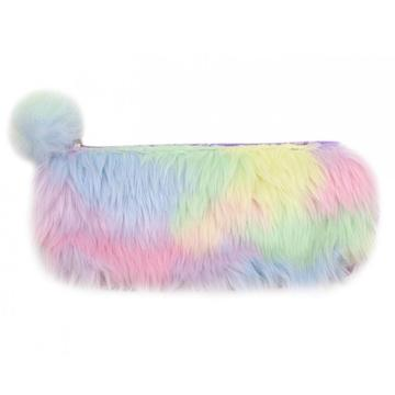COLORFUL PLUSH PENCIL CASE-0