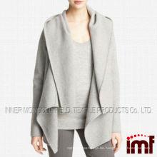 Heiße reizvolle Großhandelskoreanische Art-Frauen-Wolljacke