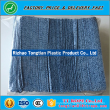 mesh plain spunlace nonwoven fabric for industrial wiping