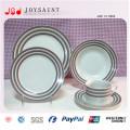 Plaque en céramique d'articles ménagers d'utilisation quotidienne de porcelaine de ménage