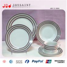 Porcelaine domestique Utilisation quotidienne Articles ménagers Plaque en céramique