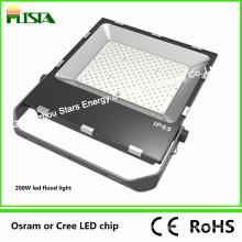 Projector do diodo emissor de luz da microplaqueta de 200W SMD com dissipador de calor magro