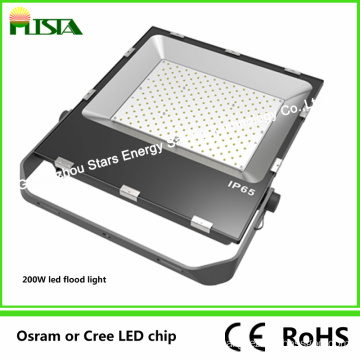 200W SMD Chip LED Floodlight with Slim Heat Sink