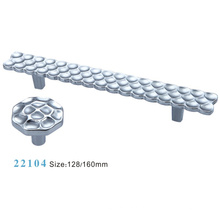 Muebles Accesorios Mango de gabinete de aleación de zinc (22104)