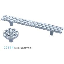 Accessoires pour meubles Poignées en alliage de zinc en alliage (22104)