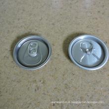 58mm 206 Alumínio Lids 500ml Bebida Can