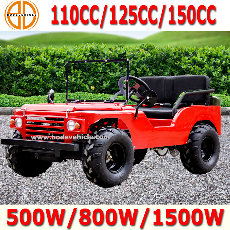 Bode Quality Assured Mini Willys Jeep 110cc for Sale Bc