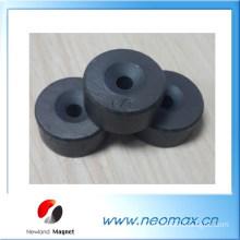 Ring ferrite magnet in N/S marking