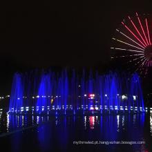Fonte de lagoa Ewaterart com luzes
