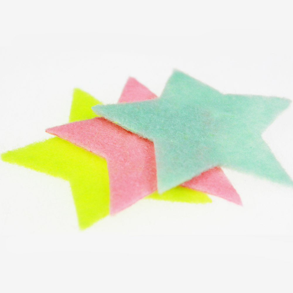 Felt star assortment kit