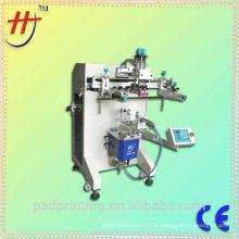 Machine d'impression sérigraphique haute précision pour articles à cylindrée Machine d'impression sérigraphique en verre