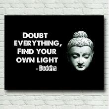 Cuadros decorativos de Buda sobre lienzo
