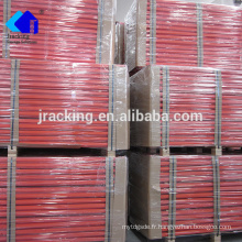 Palettisation sélective en acier résistante enduite par palette de stockage d'entrepôt de poudre de Jracking