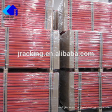 Jracking Powder Coated Heavy Duty Warehouse Almacenamiento selectivo de paletas de acero