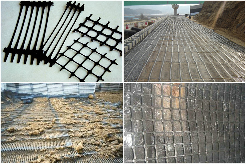 High Strength PP Uniaxial Geogrid