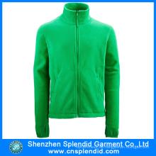 Shenzhen Kleidung Großhandel Grüne Frauen Fleece Jacke