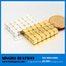High Quanlity Cornered Neodymium Block Magnet
