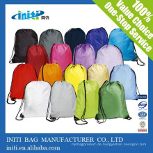 Günstige Werbe-Custom Drawstring Taschen Kein Minimum