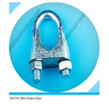 DIN741 Wire Rope Clip Malleable Wire Rope Clip