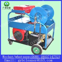 50-400mm Tubulação de esgoto Limpeza Cleanr de alta pressão
