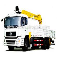 6x4 unidad Dongfeng camión grúa / camión grúa / camión elevador / cran / e camión / camión con grúa / pluma grúa / camión grúa