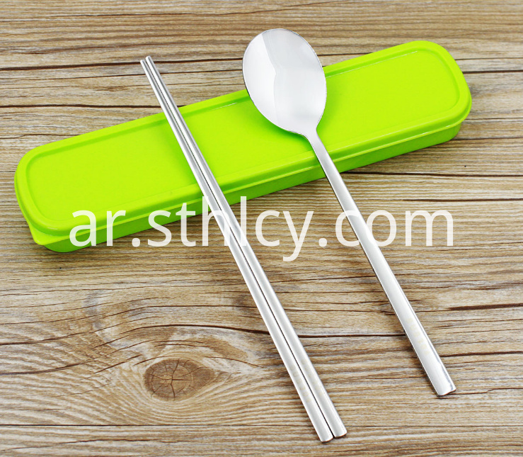 Stainless Steel Portable Tableware4