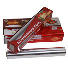 Disposable food packaging aluminium foil