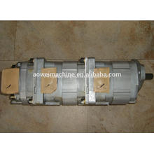 PC60-3 hydraulic triple gear pump,PC60-3 excavator main pump,705-56-24080,705-12-29010,705-12-29330,705-14-28530