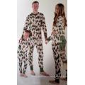 2016 haute qualité approvisionnement d'usine imprimé mode noël pyjamas famille