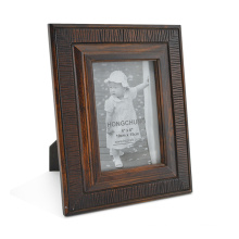 Antique Classic Wooden Photo Frame for Home Deco