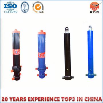 Fabricante profesional Cilindro hidráulico para volquete / volcado Cilindro de camión