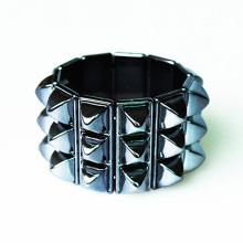 Stretch Acrylic Plate Ladies Bracelet Bangles For Women