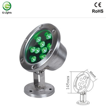 9watt Bracket Single Color LED Underwater Light