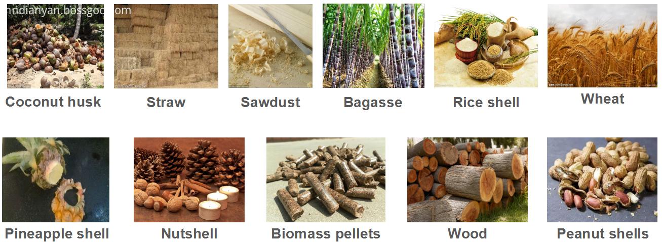biomass gasifier material
