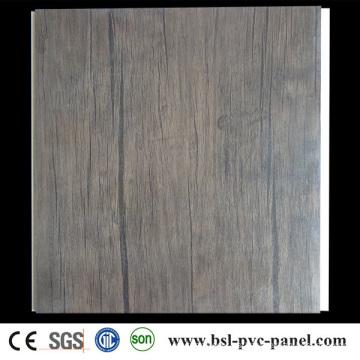 25cm Panel laminado de PVC del panel de pared del PVC de 8m m Panel del PVC de Hotselling de la India